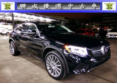 M-Benz GLC300 coupe 4matic AMG 2017
